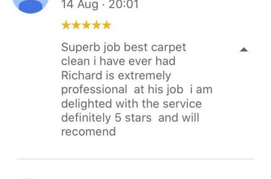 carpet cleaning edinburgh review