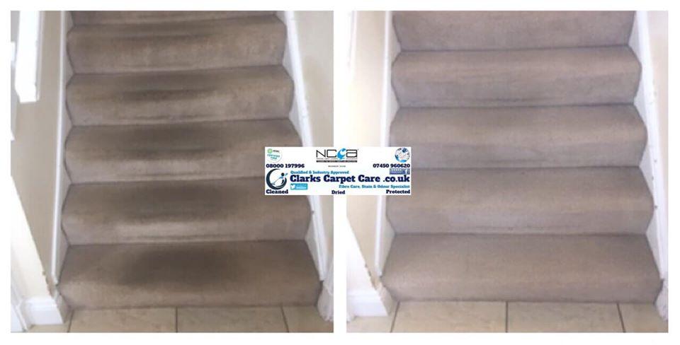 Staircase Carpet Cleaning Edinburgh
